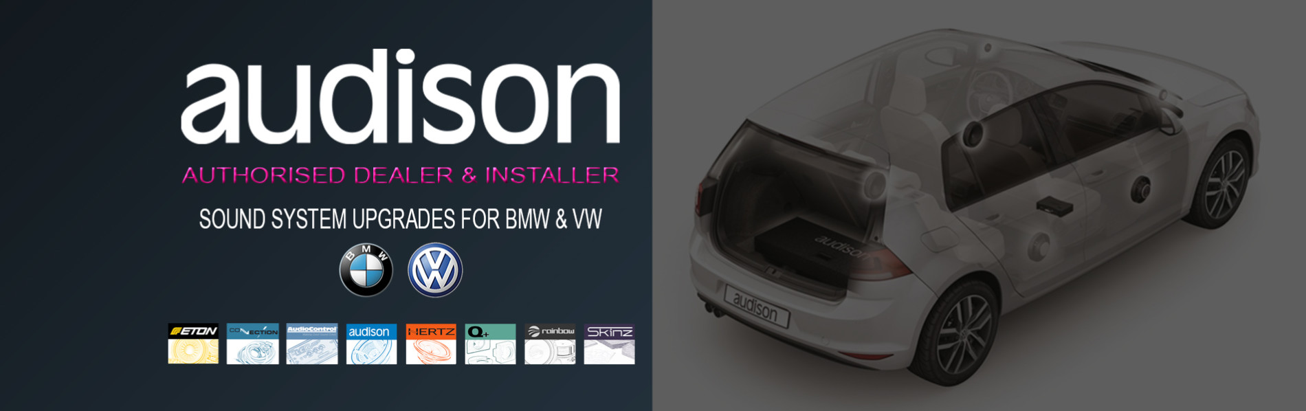 SLIDER BANNER AUDISON